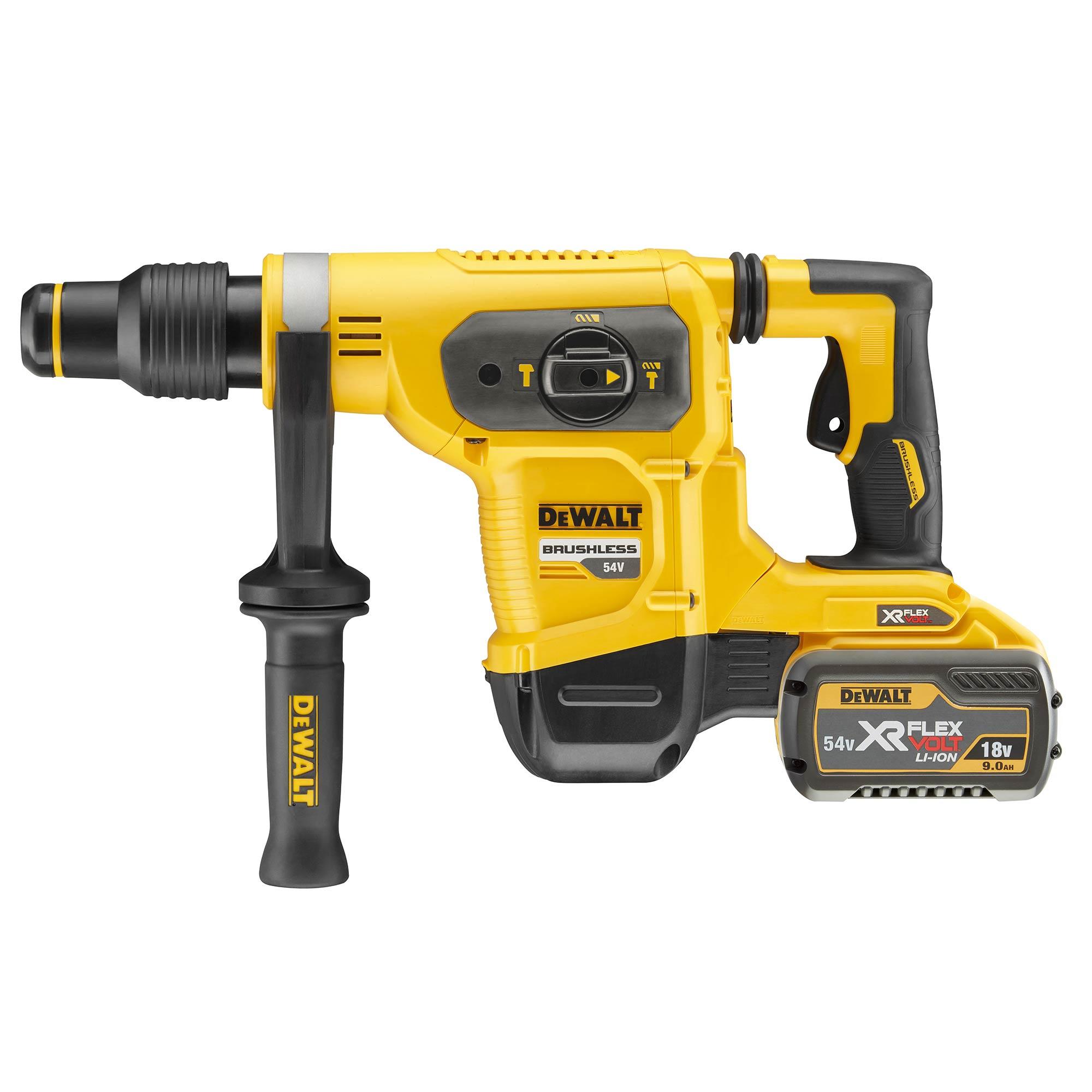 - 54V XR Flex Volt SDS Max Rotary Hammer