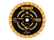 DeWALT DT10304-QZ - Extreme Framing Circular Saw Blade 24T(Corded)