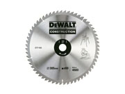 DeWALT DT1162-QZ - Construction Circular Saw Blade 305mm x 30 x 60T