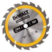 DeWALT DT1938-QZ - Circular Saw Blade – Dia 190 Bore 16 ATB 20DEG 18T