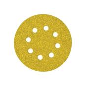 Quick Fit Nylon Loop Discs - Dry 8 Holes; 150mm; 240 grit 10 Pack