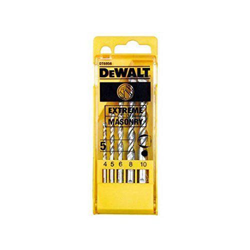 DeWALT DT6956-QZ - Masonry Drill bit Set in plastic Cassette 5Pcs