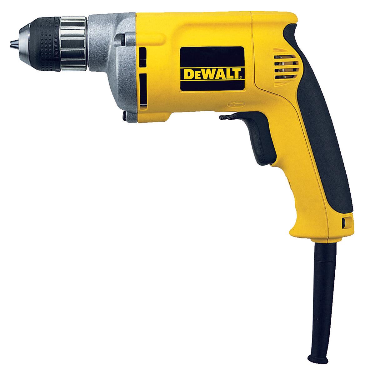 DeWALT DW217-QS - 1/4″ 6MM Variable Speed Reversing Drill