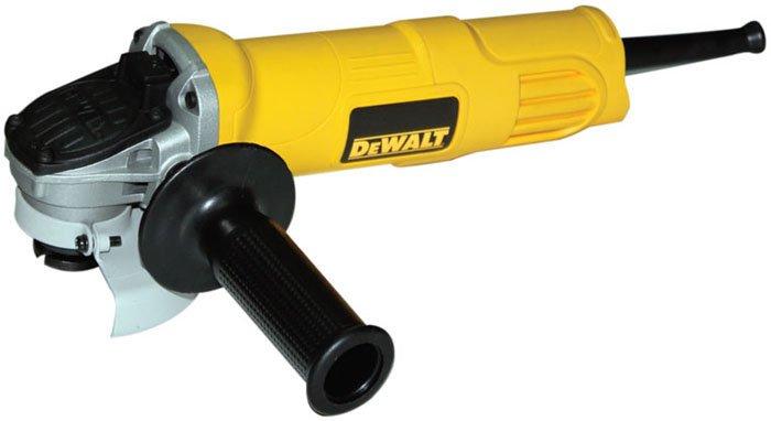 DeWALT DWE4001-B4 - 100mm Small Angle Grinder 800W Toggle Switch 110V