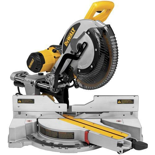 DeWALT DWS780-GB - 12-Inch Double Bevel Sliding Compound Miter Saw 220V