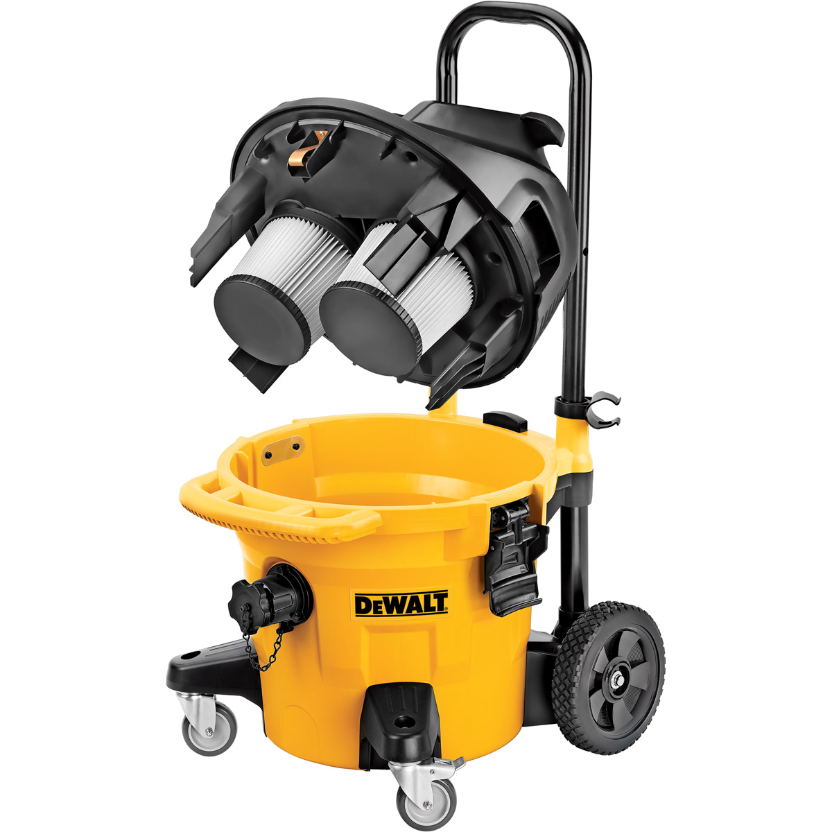 DeWALT DWV902M-LX - 38L Construction Dust Extractor M Class 110V