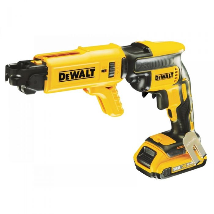 DeWALT DCF620D2K-GB - 18V XR Li-Ion Collated Screwdriver , 2Ah,  220