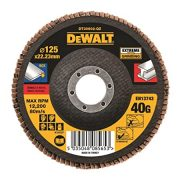 DeWALT DT30602-QZ - High Performance Flap Disc – Type 27 Flat 125mm 40 grit