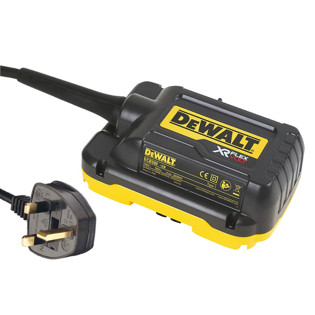 Dewalt_DCB500-GB_Adaptor for supply with AC-DC Mitre Saw