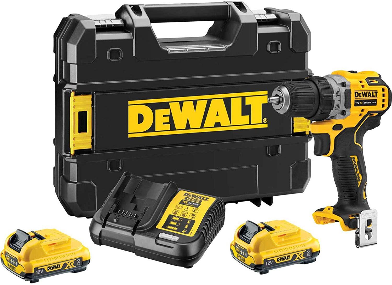 Dewalt_DCD701D2-GB_12V 2.0AH LI-ION XR BRUSHLESS CORDLESS DRILL DRIVER