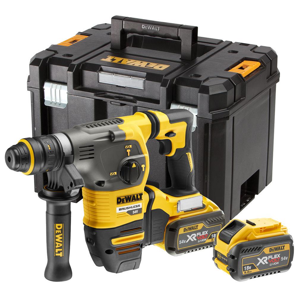 Dewalt_DCH334X2-GB_54V XR Flex Volt SDS Plus Hammer w QCC - 220V 1 - 54V XR Flex Volt SDS Plus Hammer w/QCC – 220V