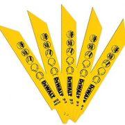 DeWALT DT2384-QZ - Reciprocating Blades – Bi Metal 152mm (Pack of 5Pcs)