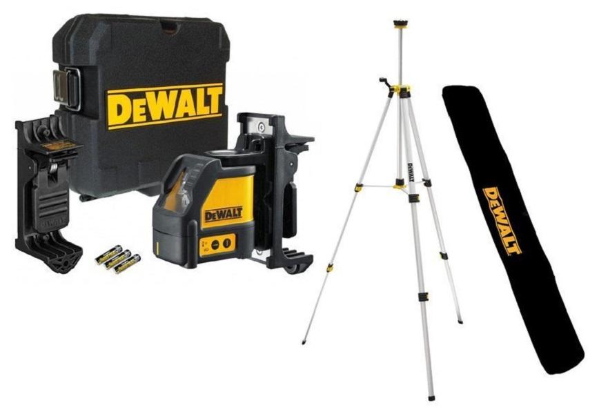 Dewalt_DW088KTRI-XJ_Multi Line Laser With New Tripod; 50ft Range - Multi Line Laser With New Tripod; 50ft Range