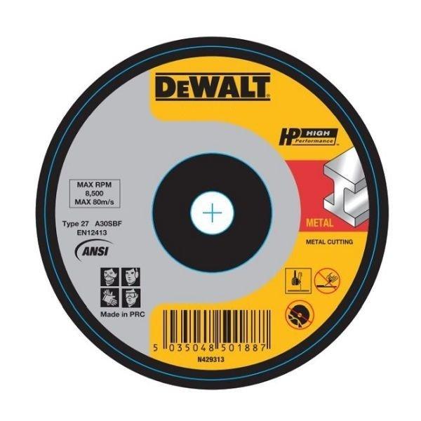 Dewalt_DWA4525IA-AE_Metal Cutting Wheel - 125x3x22mm