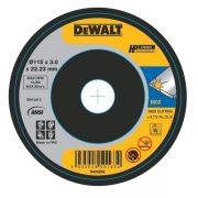 DeWALT DWA8062SIA-AE - Extra Thin SS Cutting Wheel 115×1.2x22mm