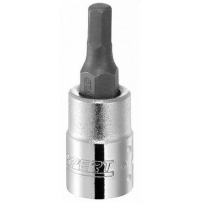 """EXPERT E030902 - 3/8"""" Square Drive Metric Hex Bit Socket – 4mm"""