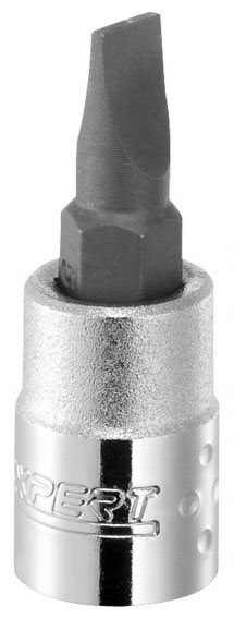 EXPERT E030111 - 1/4in Slotted Bit Socket 7mm