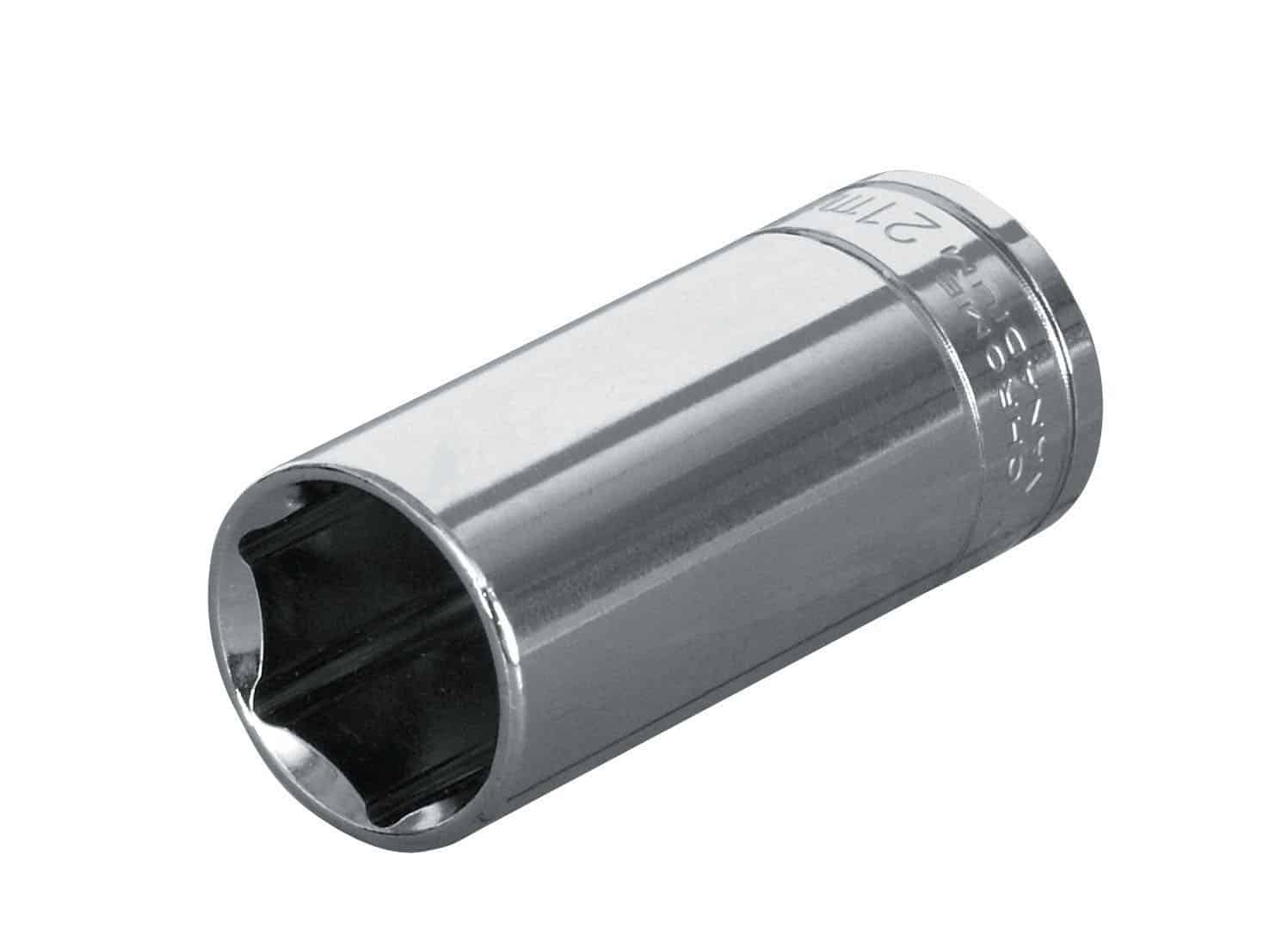 EXPERT E030219 - 1/4in Dr. Deep Socket 12Pt 9mm
