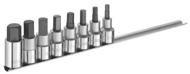 EXPERT E032904 - 1/2in Hex Bit Socket 8 Pcs Set