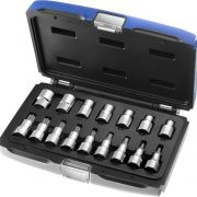 EXPERT E032907 - 1/2in Torx Socket & Bit 16 Pcs  Set
