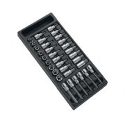 EXPERT E032922 - 1/2in Drive Screw & Torx Bit Socket Set 33Pcs