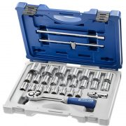 EXPERT E032939 - 1/2in Socket Set 28Piece 8-32mm Primo