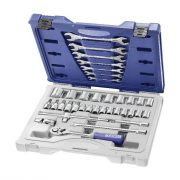 EXPERT E032940 - 1/2in Rachet & Hex Socket Primo36Piece / Socket: 8-34mm / O-End Wrenches: 6×7-18x19mm