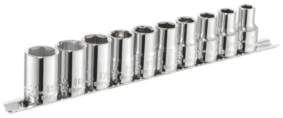 EXPERT E034837 - 1/2″ Socket 10 Pcs Set