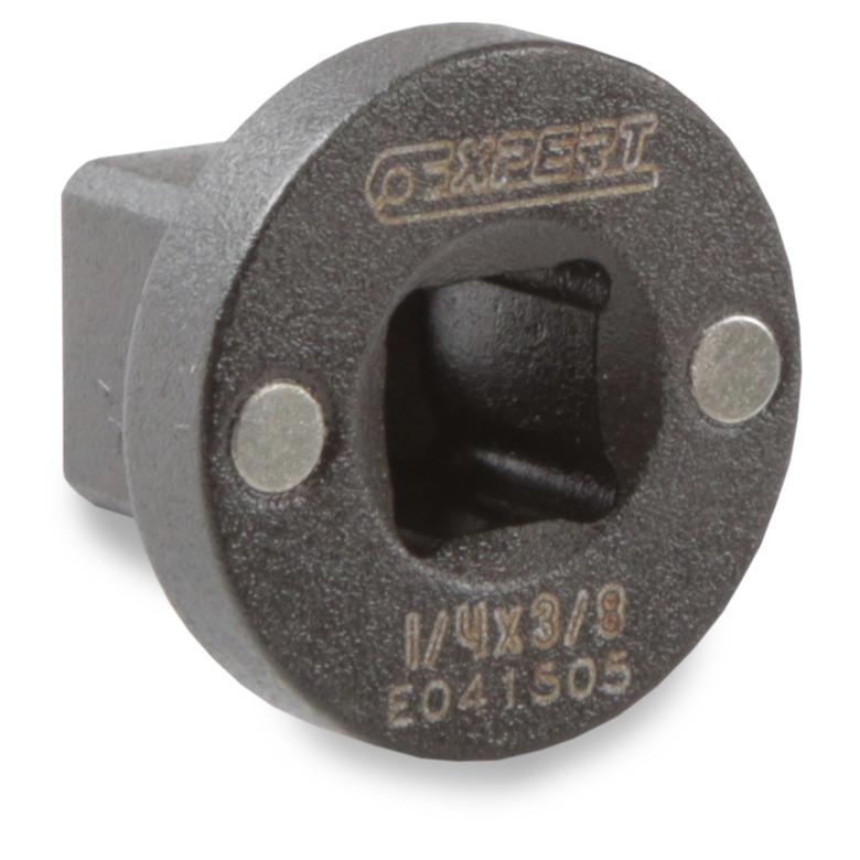 EXPERT E041505 - 1/4″ Magnetic Socket Adaptor 3/8″ Square