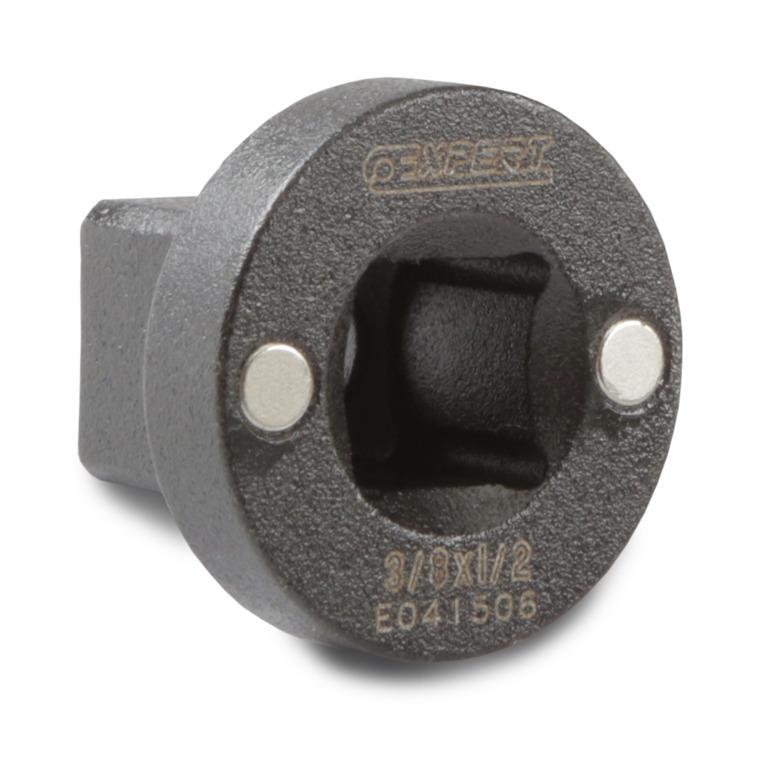 EXPERT E041506 - 3/8″ Magnetic Socket Adaptor 1/2″ Square
