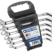 EXPERT E111708 - Metric Offset Ring Spanner Set + Rack 6 Pcs 8-19mm