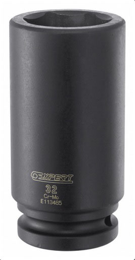 EXPERT E113484 - 3/4in Dr. Deep Impact Socket 30mm