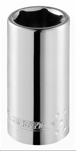 EXPERT E113753 - 1/4in Dr. Deep Socket 6Pt 5.5mm