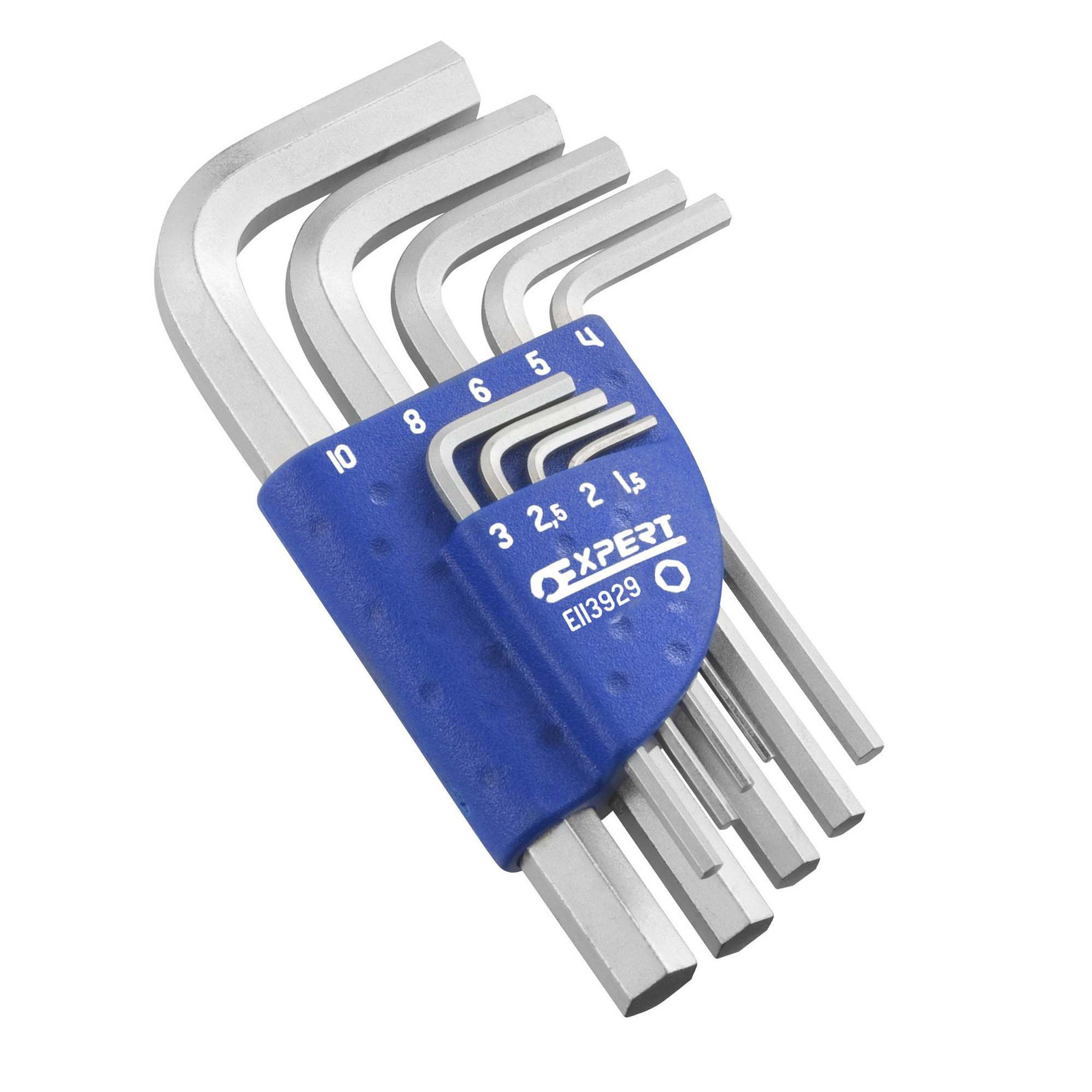EXPERT E113929 - Short Hex Key Metric Set 1.5-10mm – 9pc