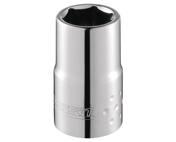 "EXPERT E117293 - 1/4"" Square Drive Metric 6Pt Socket 4mm"