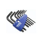 EXPERT E121103 - Sleeve Set Of 7 Tamper Torx Keys Tt10-Tt40