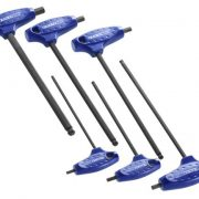 EXPERT E121203 - T-Handle Sph Head Keys  4-10; 6pc