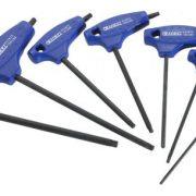 EXPERT E121301 - T-Handle Torx Keys T10t-T40; 7pc