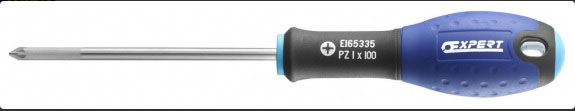 EXPERT E165319 - Pozi Head Screwdrivers Pz0 x 75
