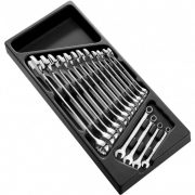 EXPERT E194937 - Combination Wrench Set 16 Pcs 6-24mm