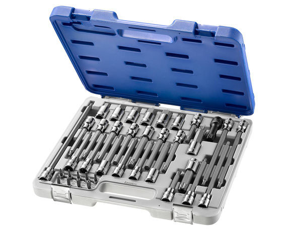 38pcs Bit sockets set Mixt. Hex / Torx 8p