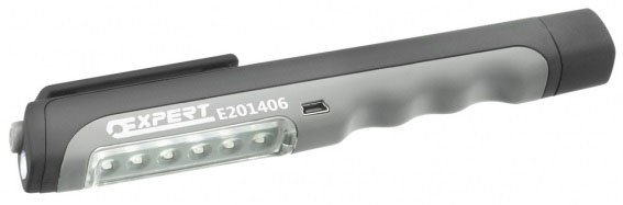 EXPERT E201406 - USB Rechargeable Pen Light