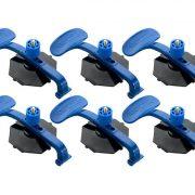 EXPERT E201507 - Suction Pad Clamps (6 pcs)