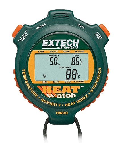 EXTECH HW30 - HeatWatch™ Humidity/Temperature Stopwatch