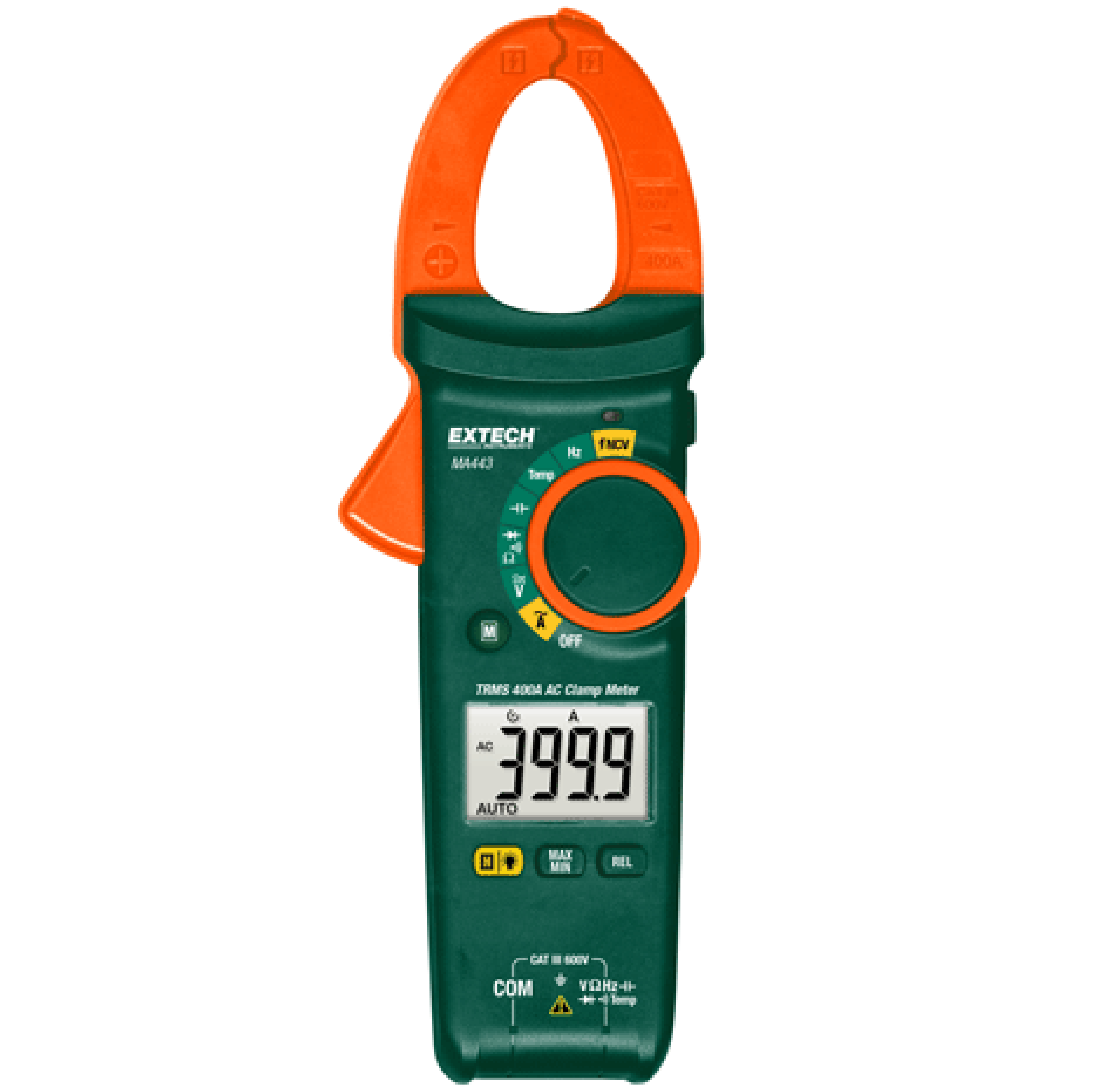 EXTECH True RMS AC Clamp Meter +NCV in Dubai - MA443 from AABTools