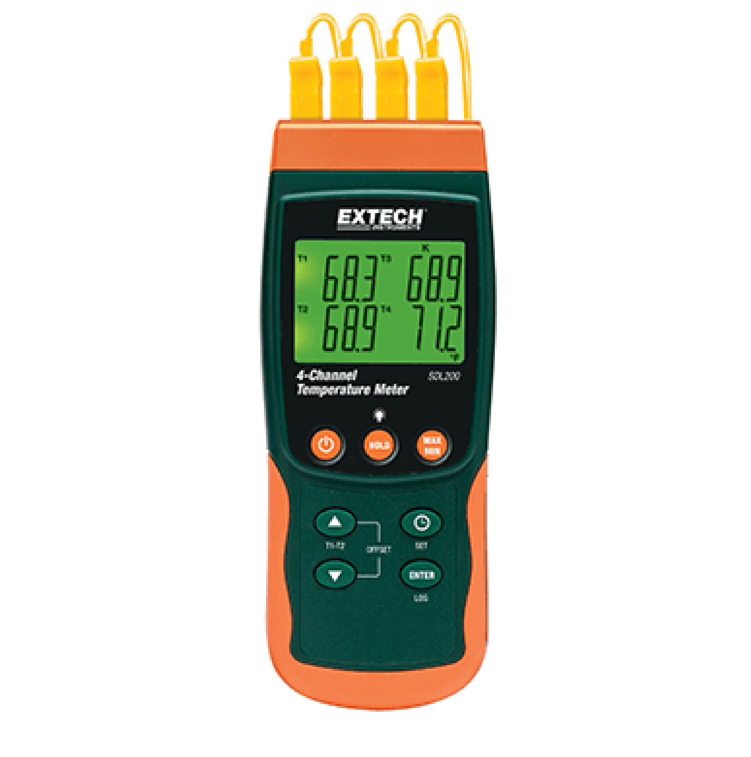 EXTECH SDL200 - 4-Channel Datalogging Thermometer