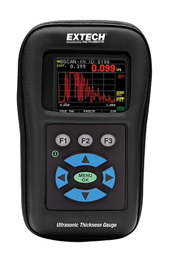 EXTECH TKG250 - Digital Ultrasonic Thickness Gauge / Datalogger