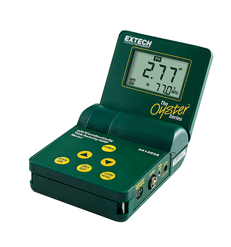 EXTECH 341350A-P - Salinity Meter / Series pH/Conductivity/TDS/ORP