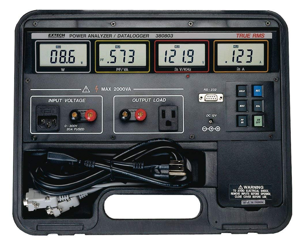 EXTECH 380803 - True RMS Power Analyzer Datalogger