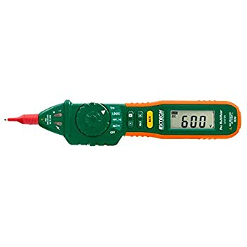 EXTECH 381676A - 9 Function Pen Multimeter + NCVAuto/Manual Ranging Pen Multimeter with Non-Contact Voltage Detector